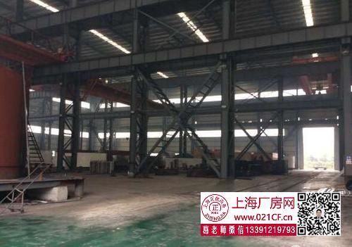 G1720 浦东 万祥临港4800平 重工业厂房出租 层高24米 行车20-100吨