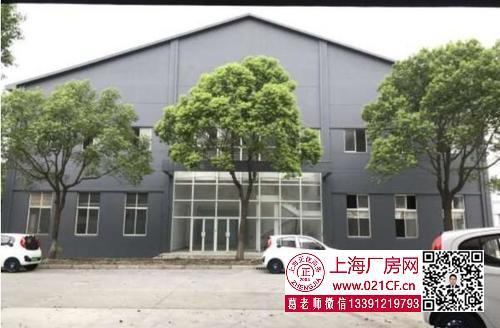 G1725 浦东 周浦镇独门独院5600平方米单层厂房仓库办公楼出租 500平方可分割