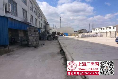 G1732  浦东三灶2200平单层厂房仓库出租 104地块 正规园区 可环评