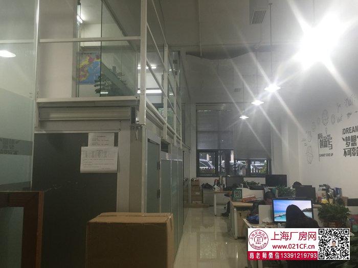 G1778 宝山 地铁一号线共富新村站附近500米左右 可环评 一楼180平、350平厂房仓库办公楼出租