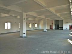 G2328  昆山 东城大道 三楼 5000平 楼上厂房出租  20元月平方米 可以分租