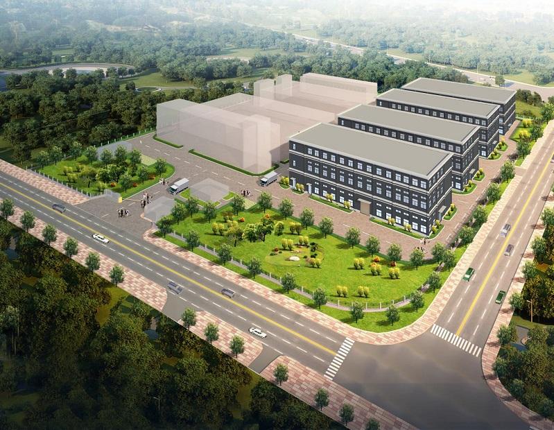 A8370 青浦工业园区 食品园 崧辉路 地铁17号赵巷站 新建4栋3层厂房整层整栋出租 1.92万平