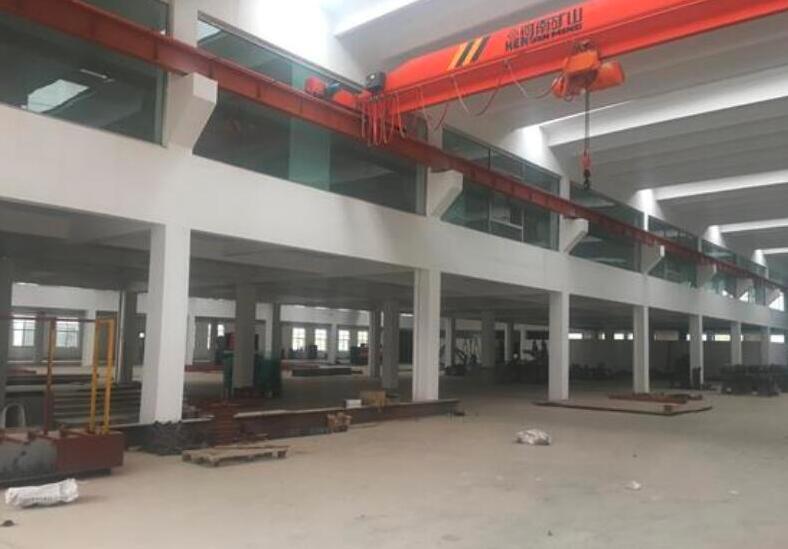 南京城市圈滁州来安汊河经济开发区宁浦路框架厂房出租带5吨行车 6000平方米可分租