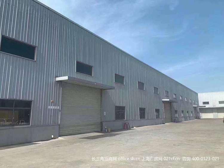 G2691嘉定区华亭镇沪华东路  单层厂房1万平方米 楼上3300平 带行车 可分割出租