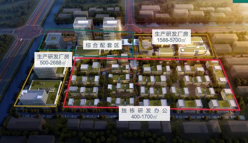 G2730 苏州吴江太湖新城-启迪苏州信息科技产业园-独栋研发办公厂房出售  400平起 6600元/平