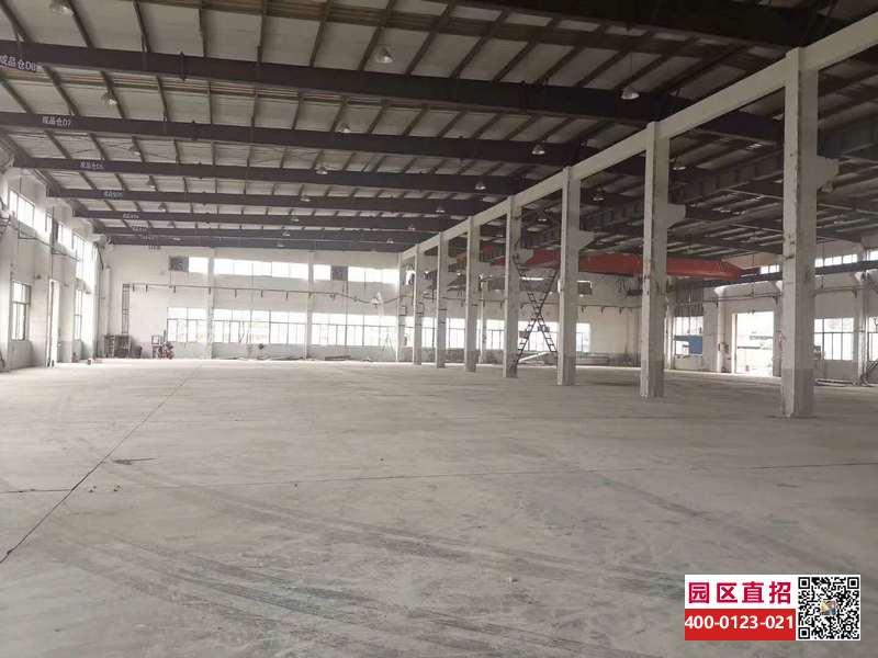 G2767 上海浦东新场工业园古博路104地块 单层带行车5500平 独栋三层每层4100平 500平起租