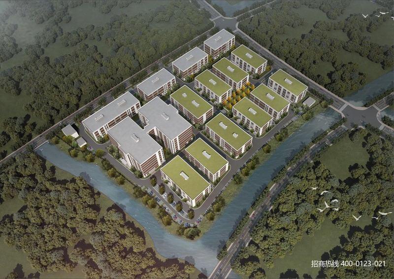 G2781 苏州常熟现代智造产业园标准独栋厂房出售 3层独栋1100平,1500平,1800平 早买享低价 4200元起