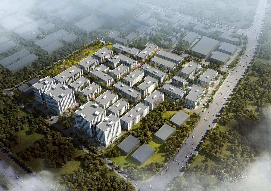 武汉东西湖临空港开发区国家网安基地科创中心开发商一手标准厂房出售 500平起售 电子信息、智能制造