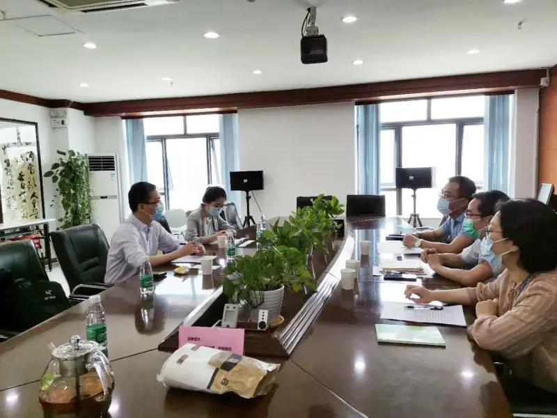 深圳市商务局领导亲临中南国际人力调研指导