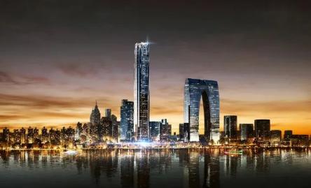 """不存在""""不建"""" 苏州中南中心将按计划建成"""